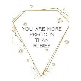 Poster A3 'You are more precious' - MA33123 - Posters A3