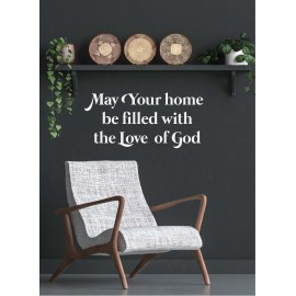 Metal Deco A3 'May your home'