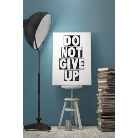 Minikaart 'Don't give up'