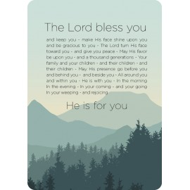 20x interieurbord 'The Blessings' - MA26135-20x - Voordeel bij MajesticAlly