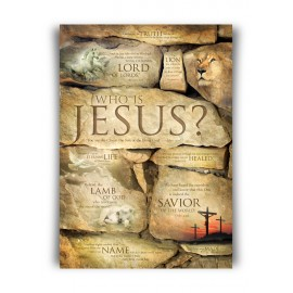 Poster A3 'Who is Jesus'