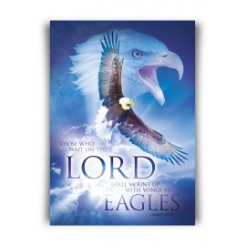 Poster A3 'Wait on the Lord' - MA11375 - Posters A3 bij MajesticAlly