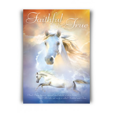 Poster A3 'Faithful & True' - MA11371 - Posters A3