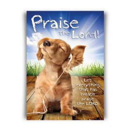 Poster A3 'Praise the Lord'