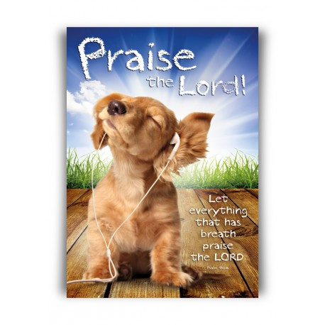 Poster A3 'Praise the Lord' - MA11362 - Posters A3 bij MajesticAlly