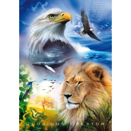 Poster A3 'Glorious Creator' - MA11357 - Posters A3