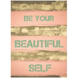 Kaart 'Be your beautiful self'