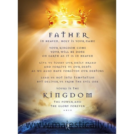 Poster Father in heaven - MA11346 - Posters XL bij MajesticAlly