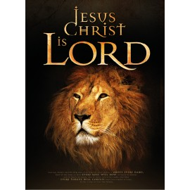 Poster Jesus Christ is Lord