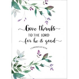 Kaart 'Give thanks to the Lord' - MA25023 - Bemoediging